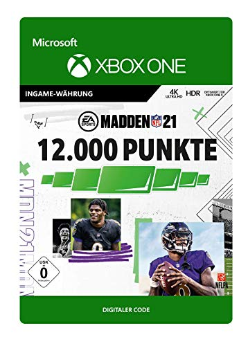 Madden NFL 21: 12000 Madden Points | Xbox One - Download Code