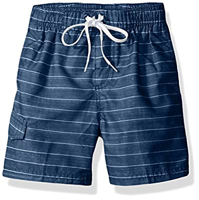 UPF 50+ quick dry microfiber: lightweight and durable for your most comfortable pair of swim trunks Side seam pockets and cargo pockets give plenty of options for storage Available in men's sizes S-XXL and kids sizes infants through 20 so dad's and k...