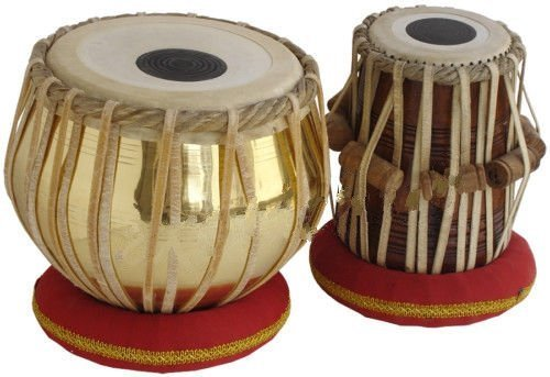 Surjan Singh & Sons Brass Tabla Set Brass Material