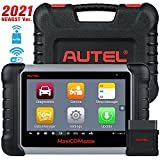 Autel MaxiCOM MK808BT Car Diagnostic Scan Tool, 2021 Newest Upgraded Ver. of MK808, MX808, All Systems Diagnosis & 25+ Services, ABS Bleed, Oil Reset, EPB, SAS, DPF, BMS, Throttle, Injector Coding