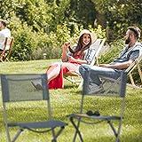 Relaxdays Gartenstuhl klappbar 2er Set - 2