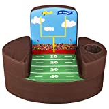 Marshmallow Furniture Flip-See-Do Comfy Child's Foam Furniture Toddler Chair for Kids Ages 2 and Up, Football