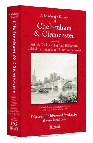 A Landscape History of Cheltenham & Cirencester (1828-1919) - LH3-163: Three Historical Ordnance Survey Maps