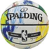 Spalding NBA Marble MC out Sz. 7 (83-636Z) Balón de Baloncesto, Multicolor, 7