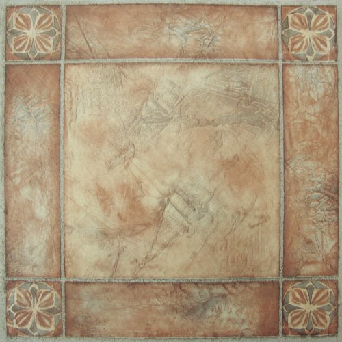 Achim Home Furnishings FTVMA44620 Nexus 12X12-Inch Vinyl Tile, Spanish...