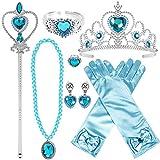 Joinfun Princesse Accessoires pour Costume d'Elsa la Reine des Neiges avec...