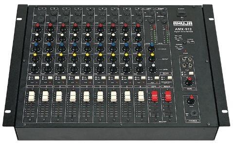 Ahuja Mixer 9 channel AMX 912
