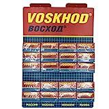 Voskhod, 100 Double Edge Safety Razor Blades, 100 Count