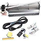 Replacement Fireplace Blower Kit for Monessen, Majestic, Martin, Vermont Castings Fireplaces, BLOT BLOTMC Fireplace Blower for Rotom HB-RB94, HB-RB79, R7-RB79