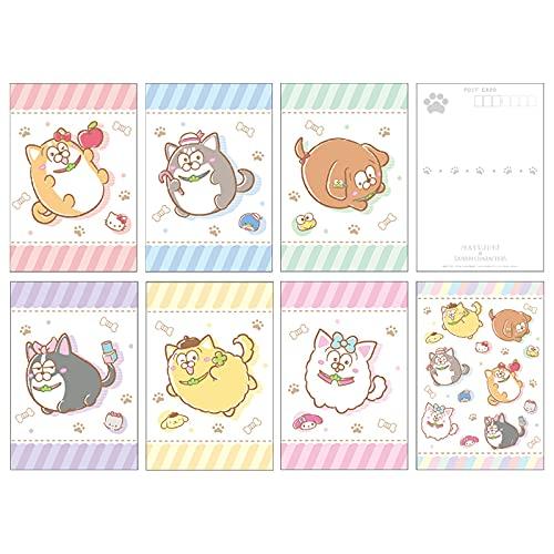 松犬×サンリオキャラクターズ ポストカードセット