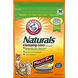 ARM & HAMMER Naturals Cat Litter, Multi Cat, 18lb Bag