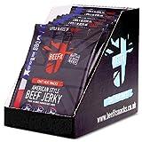 BEEFIT Snacks American Style Jerky - Hohes Protein Jerky -10 x 30g