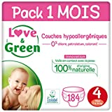 Love & Green Couches Taille 4 (7-14 Kg)...