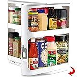 Étagère à épices extensible pour armoire de cuisine sans...