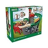 Brio World - 33887 - Grand Circuit Plateforme Multimodale - Coffret complet de...