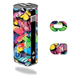 MightySkins Skin Compatible with Eleaf iStick 30W – Butterfly Party | Protective, Durable, and Unique Vinyl Decal wrap Cover | Easy to Apply, Remove, and Change Styles | Made in The USA