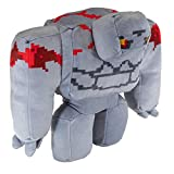 JINX Minecraft Dungeons Adventure Redstone Golem Stuffed Toy, Multi-Colored, 8.5' Tall x 9' Wide