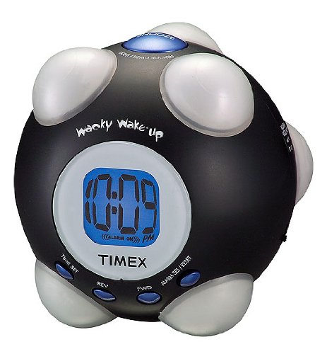 Timex Wacky Phrases Shake N Wake alarm Clock (T156BX)
