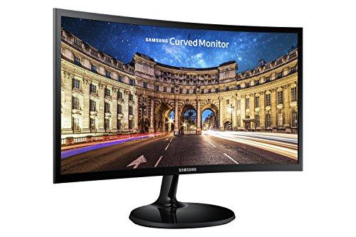 Samsung 24F390 Monitor Curvo FHD da 24', 1920 x 1080, 16.7 Milioni di Colori, 4 ms, HDMI, D-Sub, Nero, VESA