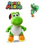 Super Mario Bros - Peluche Yoshi 30cm Qualité Super Soft De Super Mario...