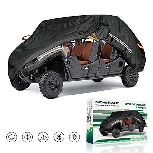 NEVERLAND UTV Cover,Waterproof Heavy Oxford Material for Polaris RZR PRO XP 4 Yamaha Can Am Maverick Arctic Cat Textron Off Road 4-6 Passenger