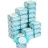 AIXIANG 24 Pack Handmade Prince Blue Crown Style Soap Favors for Baby Shower Favors Baby Birthday Decorations for Boy