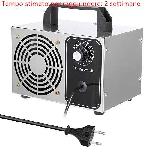 yorten Generatore di Ozono per casa o Commerciale 28G - generatori di ozono Lunga Vita con Timer sterilizzatore - Rimuovere la formaldeide 99.99%