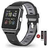 Montre Connectée Femmes Homme Smartwatch Tactile Bracelet Connecté Etanche...