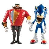 Sonic The Hedgehog T22502A4SONICEGMAN - Figuras articuladas de Boom y Eggman (7,62 cm, 2 Unidades)