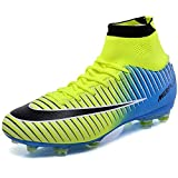 BOLOG Chaussures de Football Homme High Top Profession Athlétisme...