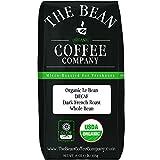 The Bean Coffee Company Organic Decaf Le Bean, Dark French Roast, Whole Bean, 16-Ounce Bag