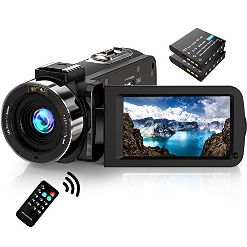 Video Camera Camcorder FHD 1080P 30FPS 36MP IR Night Vision YouTube Vlogging Camera Recorder...