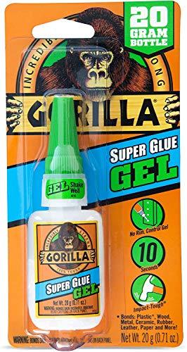 Gorilla 7700104 Super Glue Gel, 1-Pack