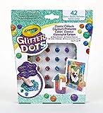 CRAYOLA - Glitter Dots Assortiti, Set per Giocare e Creare con Il Glitter Modellabile, Colori Classici, Tropicali, Vivaci, 04-0803