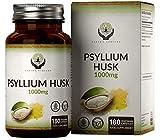 EN Cascara de Psyllium 1000mg   180 Capsulas Veganas de Cáscaras de Psyllium   Fibra de Plantago...