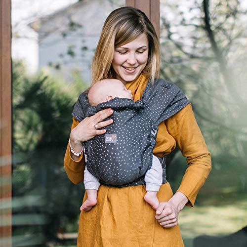 Love & Carry® Love Tie / Mei Tai Baby Carrier Ergonomic Baby Carrier (Granite)
