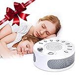 ♫9種類の睡眠誘導音:睡眠障害の対策としてリラックスできる音楽を聴く療法が数多く行われており、ホワイトノイズマシンは、睡眠を助けるために9つの自然音を使用する新型の睡眠誘導マシンです。白い騒音、雨音、風の音、波音、小川、雷の音、夏の静かな夜、軽い音楽、リラックス音楽9つの自然な音は、脳波と同期して発生すると、人々の脳をゆっくりとリラックスさせ、徐々に深い睡眠状態に入れます。一晩中良質な睡眠をとることができます。上質な睡眠は体の健康にとって大切です。 ♫快眠グッズ不眠症対応:ホワイトノイズは、騒音...