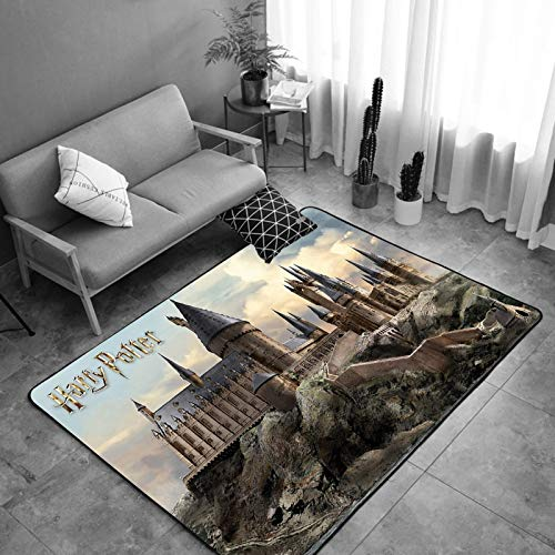 TTMPTY Kids Har-ry Po-tter Rugs for Bedroom Boys Girls, Playroom Area Rug Floor Rugs Doormat Carpets Area Mats (Color : 2, Size : 24×36 in)