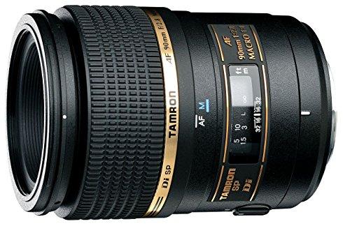 Tamron SP AF 90 mm F/2.8 di Macro 1:1 - Objetivo para Nikon (Distancia Focal Fija 90mm, Apertura f/2.8, Macro, diámetro: 55mm) Negro (272ENII)