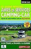 Le Guide officiel Aires de service camping-car 2020