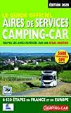 Le Guide officiel Aires de service camping-car 2020