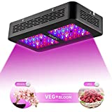 Niello 300W LED grow lightà double lentille optique, spectre complet pour...