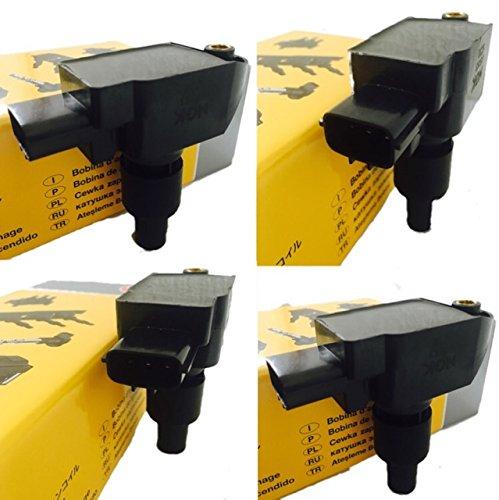 1台分4本セット NGK (エヌジーケー) イグニッションコイル マツダ RX-8 【 SE3P 】 U5093 【 48541 】