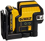 DEWALT 12V MAX Line Laser, 2 Spot, Cross Line, Green (DW0822LG)