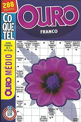 Palavras Cruzadas Coquetel Ouro Franco nº 35 - 288 páginas - nível médio