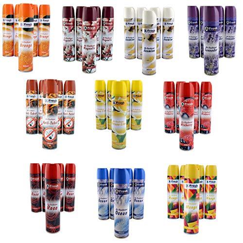 6x 300ml Lavendel Lufterfrischer Spray | Raumduftspray | Duftspray | Spraydose | Raumspray | Aerosol Duftspender