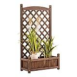 MCombo 0428 Jardinière avec treillis pour plantes grimpantes