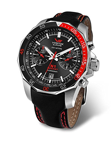 Vostok Europe Rocket N1 Herrenuhr Chronograph 6S21-2255295