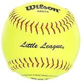 Wilson A9074 Little League Softball (12-Pack), 12-Inch, Optic Yellow