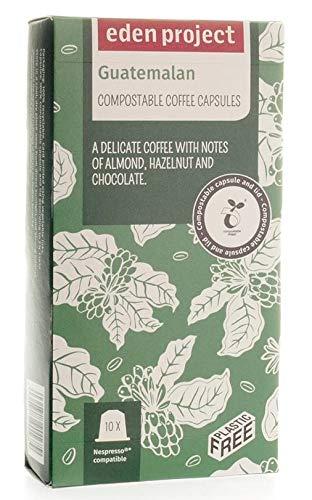 Eden Project Guatemala Kompostierbare Nespresso-Kapseln, 10 Stück